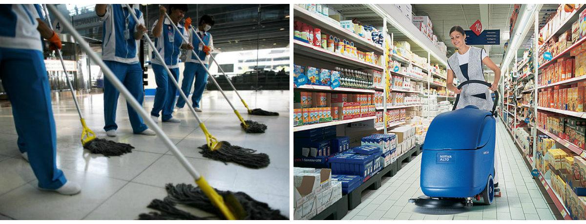 КЛИНИНГОВАЯ КОМПАНИЯ «НКС» - уборка зданий и производственных помещений